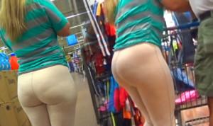 Latina bubble in tan pants