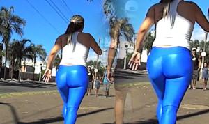 Brazilian Milf in Yoga pants