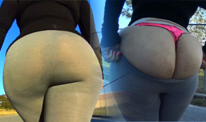Melina Gray Yoga Pants!