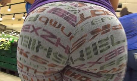 Mega Brazilian Booty Spandex