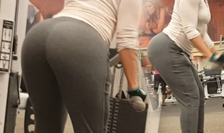 New Mega Booty from the gym