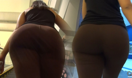 Bubble Booty Brown Leggings
