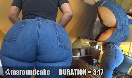Ms Round Cake Jeans and Thong