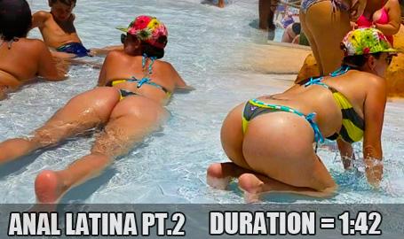 Anal Latina Booty pt 2