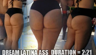 Dream Latina Bubble Booty Donk